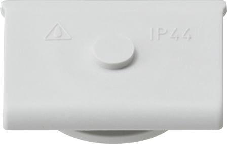 Kabeleinführung 1fach, grau, Aufputz Wassergeschützt, Gira 000930