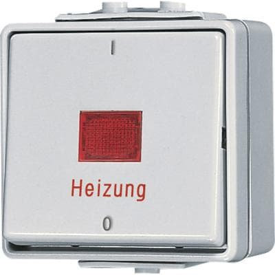 Heizungsschalter 10 AX 250 V, WG 600, Jung 602HW