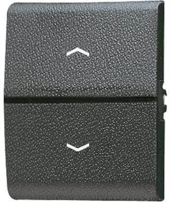 Wippe mit Lichtleiter und Symbolen, WG 800, Jung 800P