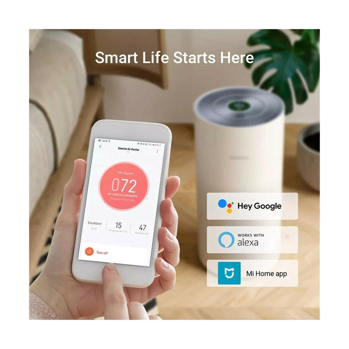 Indexbild 3 - Xiaomi Smartmi Air Purifier Luftreiniger, steuerbar per Mi App, 40W, für 48M², w