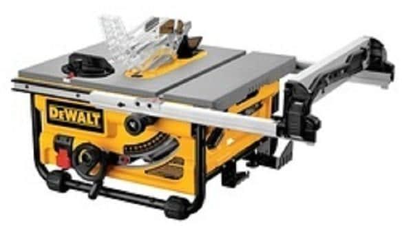 Dewalt Dw745 Tischkreissage 1700 W O 250 Mm Inkl Hm Sageblatt