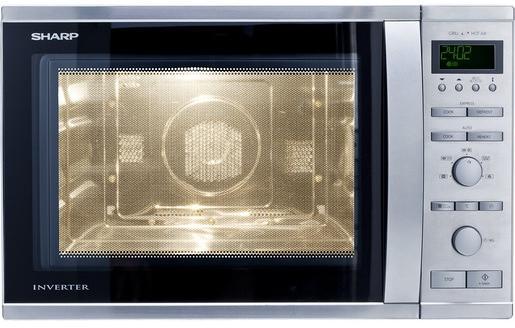 Sharp R941STW, Mikrowelle 40 L (1050 W), Grill (1300 W)