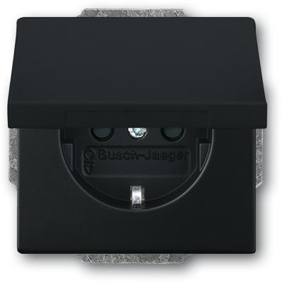 jalousieschalter einsatz 1 polig schalter busch jaeger. Black Bedroom Furniture Sets. Home Design Ideas