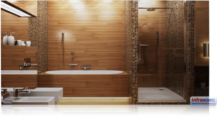 infranomix slim line spiegel rahmenlos 700w 1200x600mm ghe s sl 126 von infranomic bei. Black Bedroom Furniture Sets. Home Design Ideas