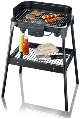 severin pg 8532 elektrogrill 2500 w gro e grillfl che 41 x 26 cm schwarz von severin. Black Bedroom Furniture Sets. Home Design Ideas