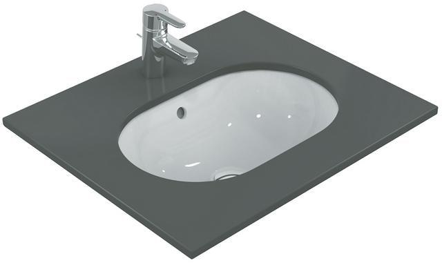 Ideal Standard Connect Unterbau-Waschtisch, 550 x 380 x 175 mm, weiß  (E504801)