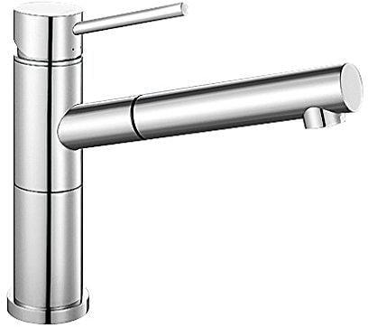Blanco Alta-S Compact Küchenarmatur Niederdruck, chrom (518448) von ...