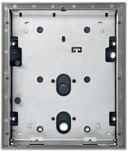 busch jaeger 83124 12 664 au enstation video 12 fach frontplatte aus 3 mm metall oberfl che. Black Bedroom Furniture Sets. Home Design Ideas