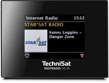 TechniSat DigitRadio 110 IR DAB+/Internetradio (0010/4958), schwarz