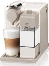DeLonghi LATTISSIMA TOUCH EN560.W, Kapselmaschine, 19 bar, One-Touch-Technologie, automatisches Cappuccinosystem, weiß
