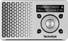 TechniSat DigitRadio 1 DAB+ Digitalradio, silber (0002/4997)