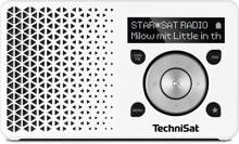TechniSat DigitRadio 1 DAB+ Digitalradio, weiß/silber (0001/4997)