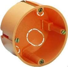 PROTEC.class PHSD6847 Schalter Hohlwanddose, 68/47 mm, orange, 25 Stck