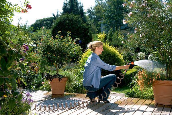 spiralschlauch set gardena 4647 20 10m schlauch von gardena bei elektroshop wagner. Black Bedroom Furniture Sets. Home Design Ideas