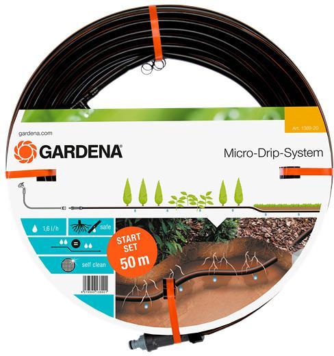 micro drip system start set gardena 1389 20 50m. Black Bedroom Furniture Sets. Home Design Ideas