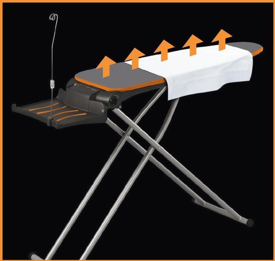 b geltisch siemens extremactiveboard tn10100n anthrazit metallic coral orange von siemens. Black Bedroom Furniture Sets. Home Design Ideas