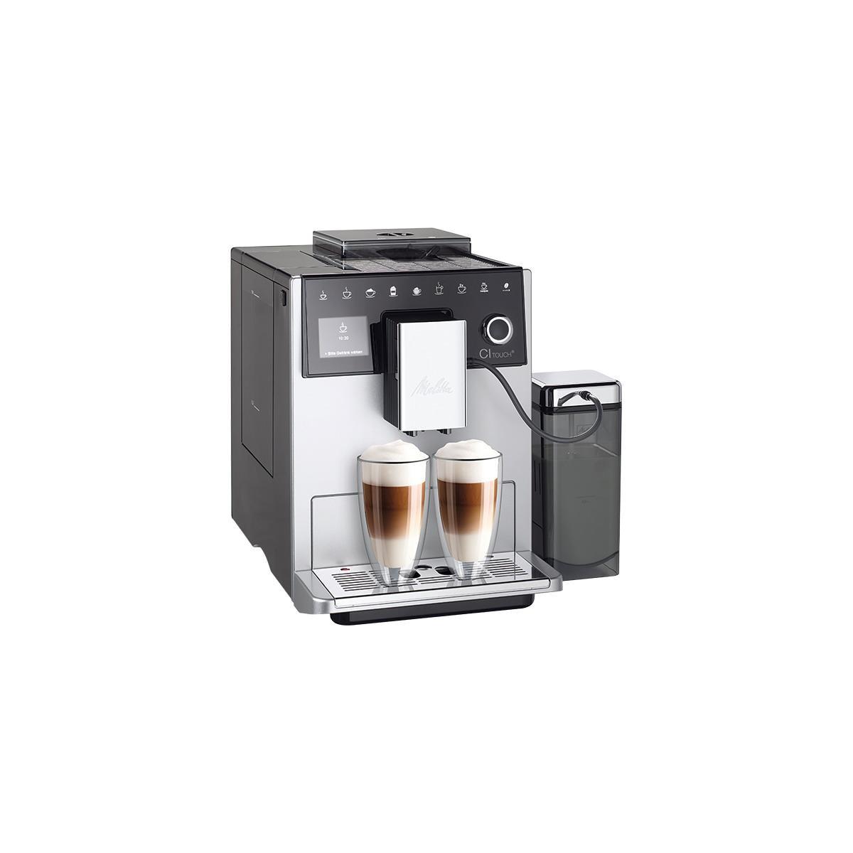melitta caffeo ci e970 101ci 15 bar kaffeevollautomat one touch silber milchbeh lter von. Black Bedroom Furniture Sets. Home Design Ideas
