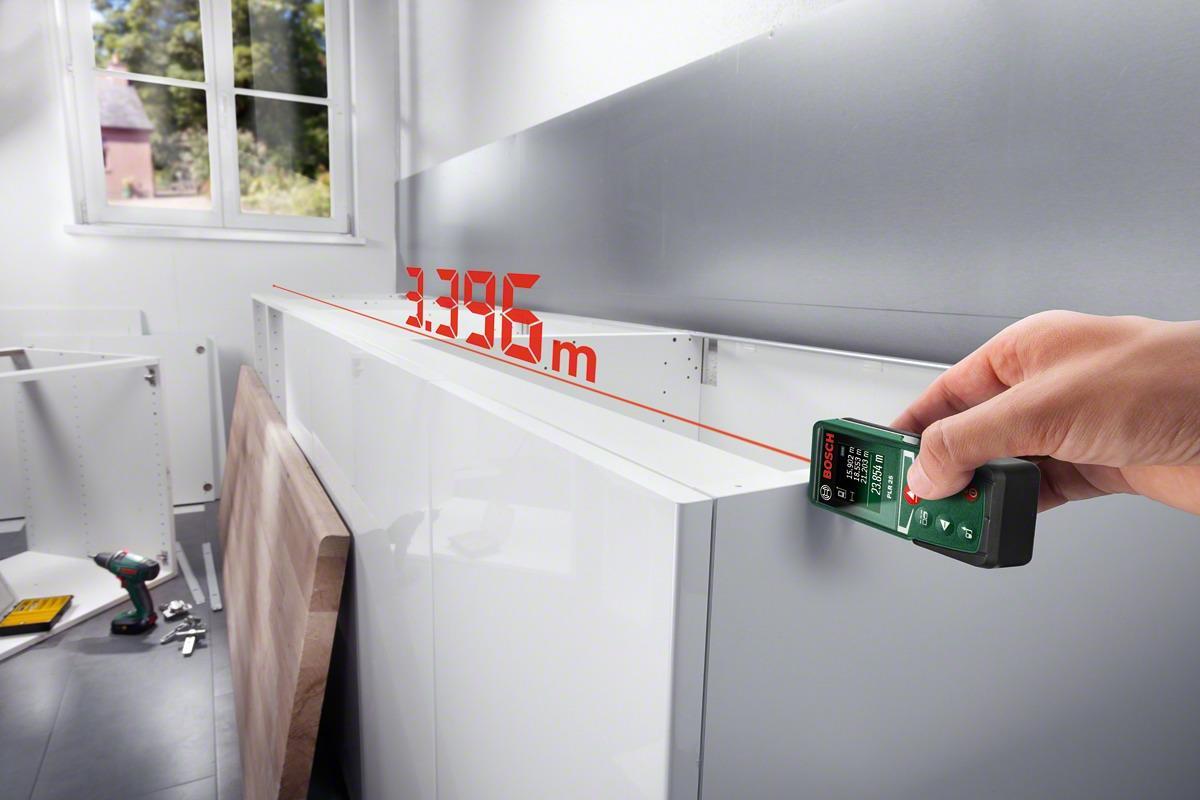 Bosch plr25 laser entfernungsmesser 0603016200 von bosch werkzeuge