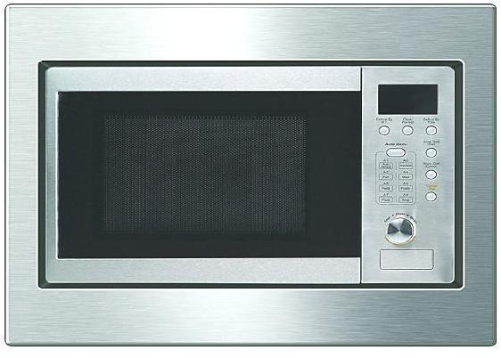 exquisit emw20g einbau mikrowelle mit grill 800 w. Black Bedroom Furniture Sets. Home Design Ideas