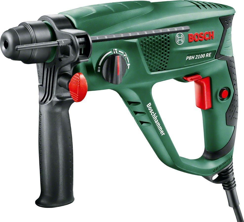 bosch pbh2100re bohrhammer (06033a9300), sds-plus, 550 w, inkl