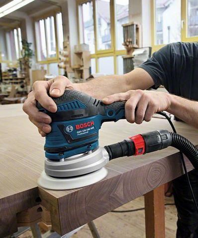bosch gex 125 150 ave professional exzenterschleifer 060137b103 400 w von bosch werkzeuge. Black Bedroom Furniture Sets. Home Design Ideas