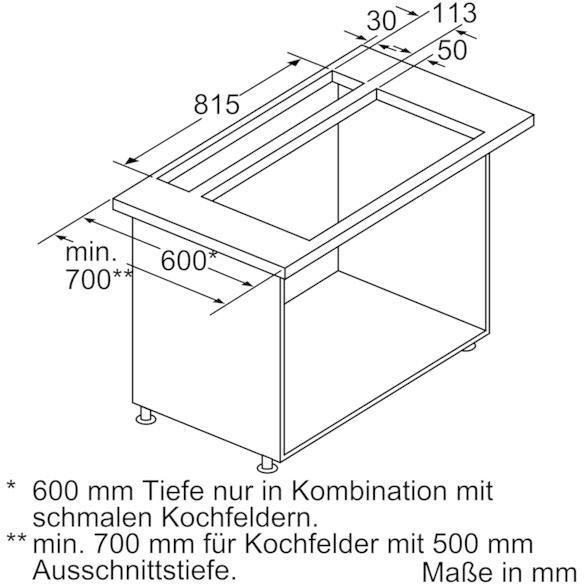 neff airdeluxe 300 i99l59n0 tischhaube eek c airfresh von neff bei elektroshop wagner. Black Bedroom Furniture Sets. Home Design Ideas