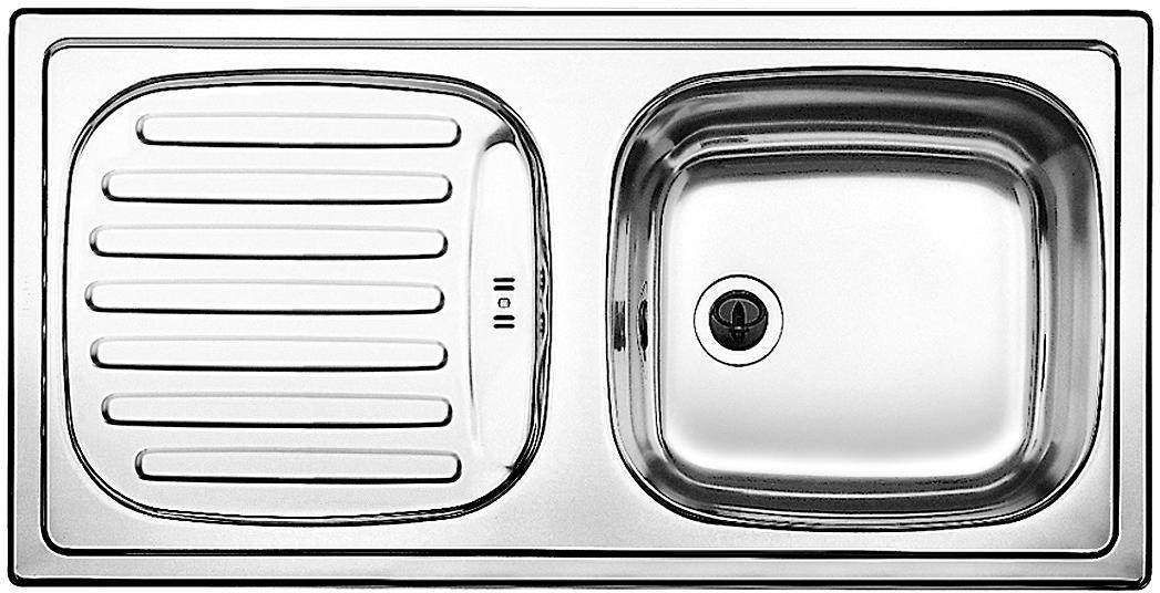 blanco flex einbausp le ohne ablauffernbedienung reversibel edelstahl naturfinish 511917 von. Black Bedroom Furniture Sets. Home Design Ideas