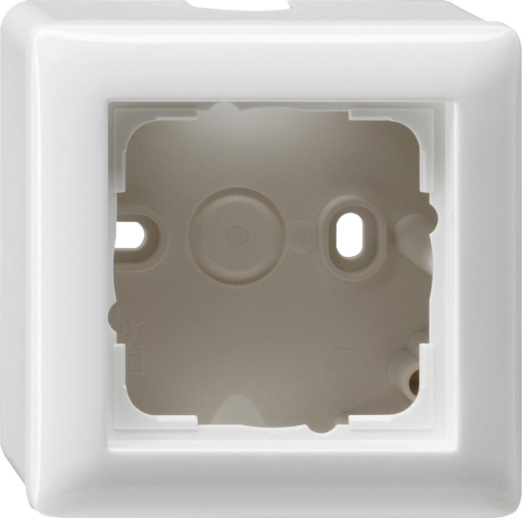 aufputz geh use mit abdeckrahmen standard 55 1fach gira. Black Bedroom Furniture Sets. Home Design Ideas
