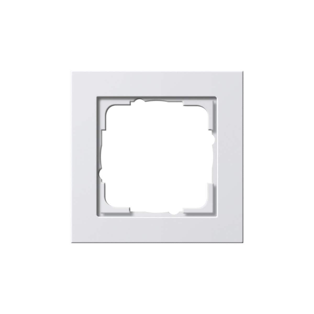 E2 Reinweiß glänzend Schalter//Steckdose//Rahmen frei wählbar GIRA System 55