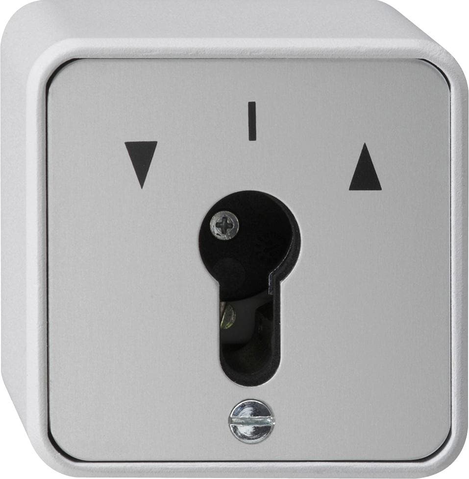 Schlüsselschalter 10 A 250 V~ für alle DIN-Profil-Halbzylinder ...