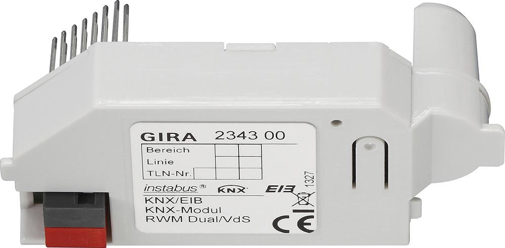 knx modul f r rauchwarnmelder dual vds gira 234300 von gira premium bei elektroshop wagner. Black Bedroom Furniture Sets. Home Design Ideas