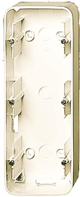 aufputz geh use 3 fach geh use cremewei busch jaeger 1703 212 von busch jaeger bei. Black Bedroom Furniture Sets. Home Design Ideas