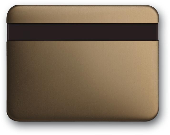 Busch-Komfortschalter® Bedienelement mit Orientierungslicht, bronze ...