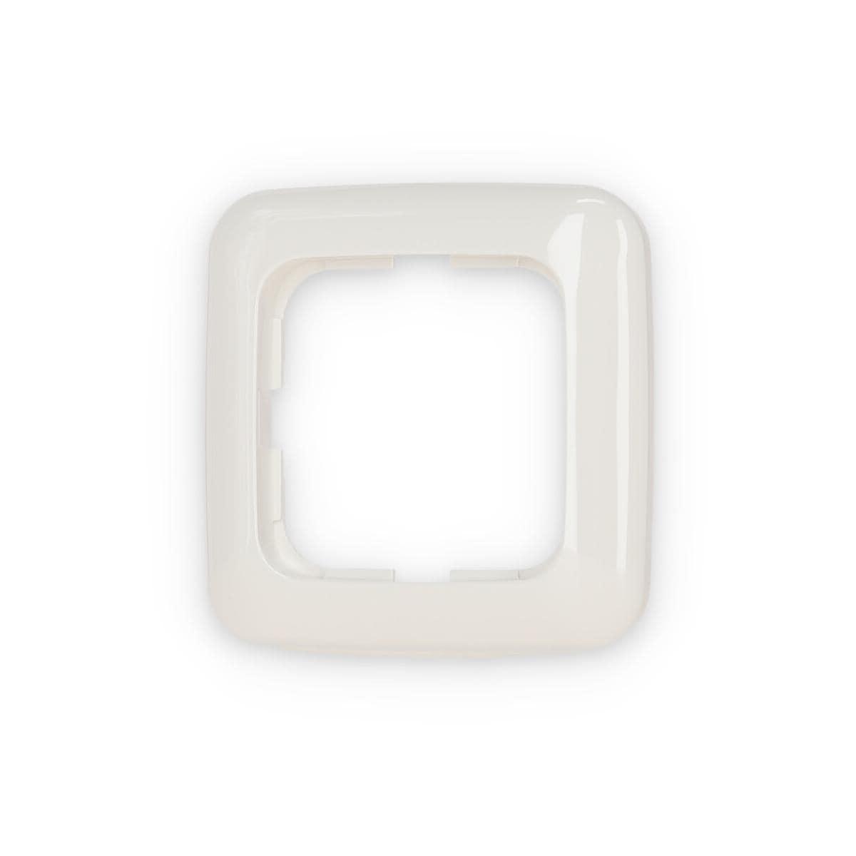 abdeckrahmen 1 fach rahmen reflex si alpinwei busch jaeger 2511 214 von busch jaeger a. Black Bedroom Furniture Sets. Home Design Ideas