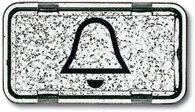 tastersymbol klingel alpinwei allwetter 44 busch jaeger 2622 ki 101 von busch jaeger bei. Black Bedroom Furniture Sets. Home Design Ideas