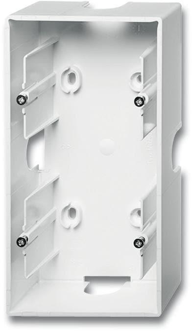 busch jaeger 1702 84 aufputz geh use 2 fach geh use future linear studiowei von busch jaeger. Black Bedroom Furniture Sets. Home Design Ideas