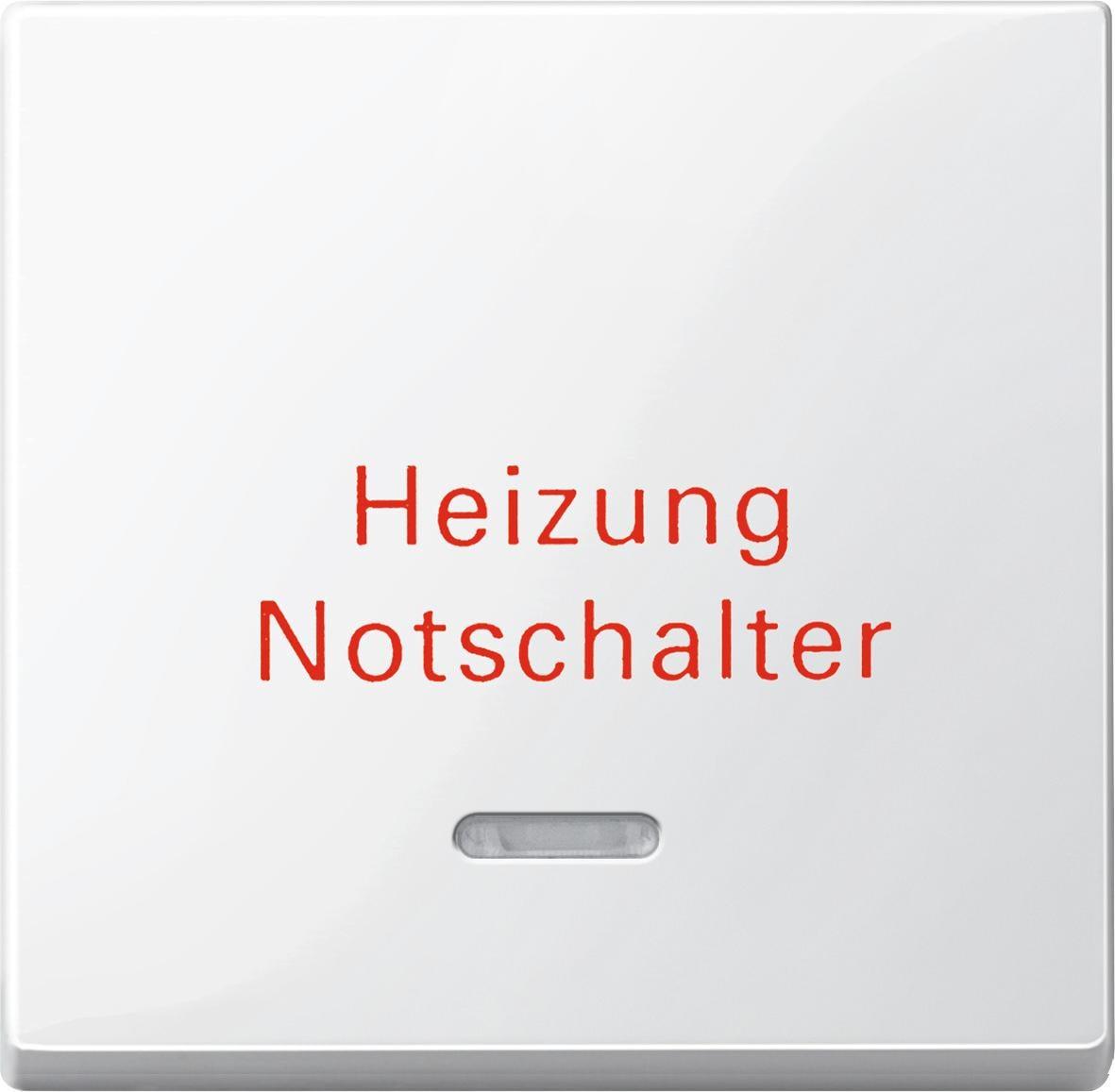 Merten 436019 Wippe mit Kontrollfenster polarwei/ß gl/änzend System M