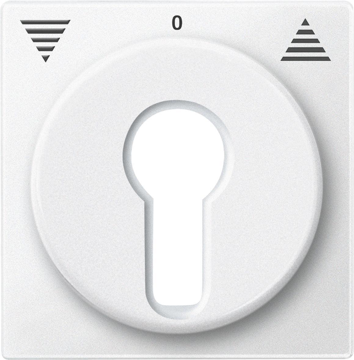 Merten Wippe für Rollladenschalter Taster Pfeile System M 435519 Polarweiß