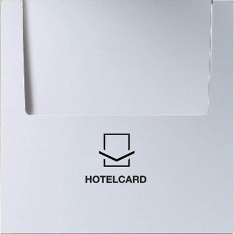 jung al2990card hotelcard schalter ohne taster einsatz aluminium ls 990 von jung premium bei. Black Bedroom Furniture Sets. Home Design Ideas