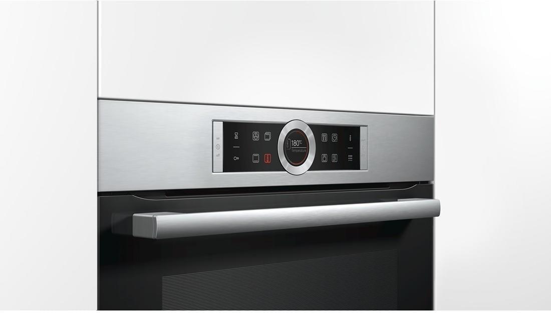 bosch hbg675bs1 a einbau backofen sensor tasten. Black Bedroom Furniture Sets. Home Design Ideas