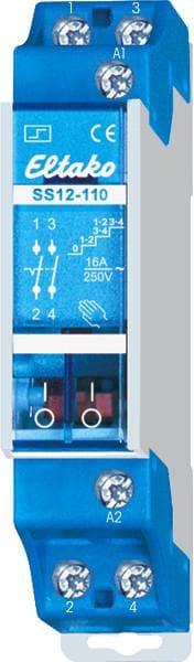 Eltako SS12-110-230V Stromstoß-Serienschalter 1+1 Schließer 16A 21110230