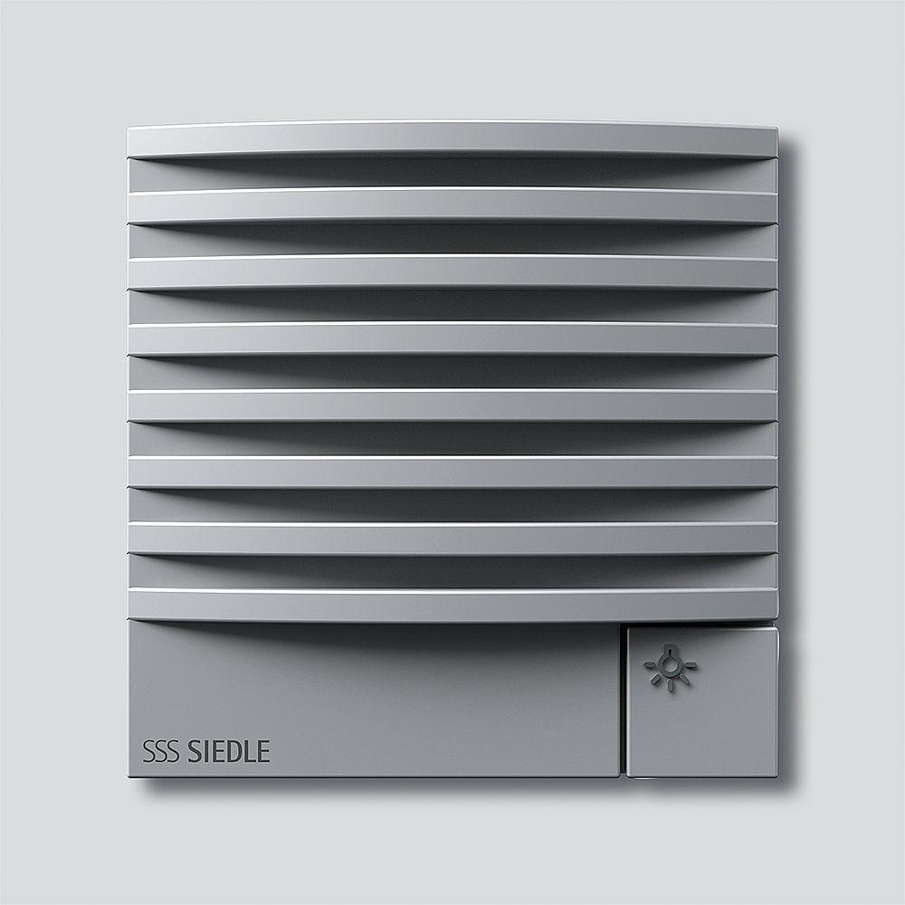 bus t rlautsprecher modul silber metallic siedle vario. Black Bedroom Furniture Sets. Home Design Ideas