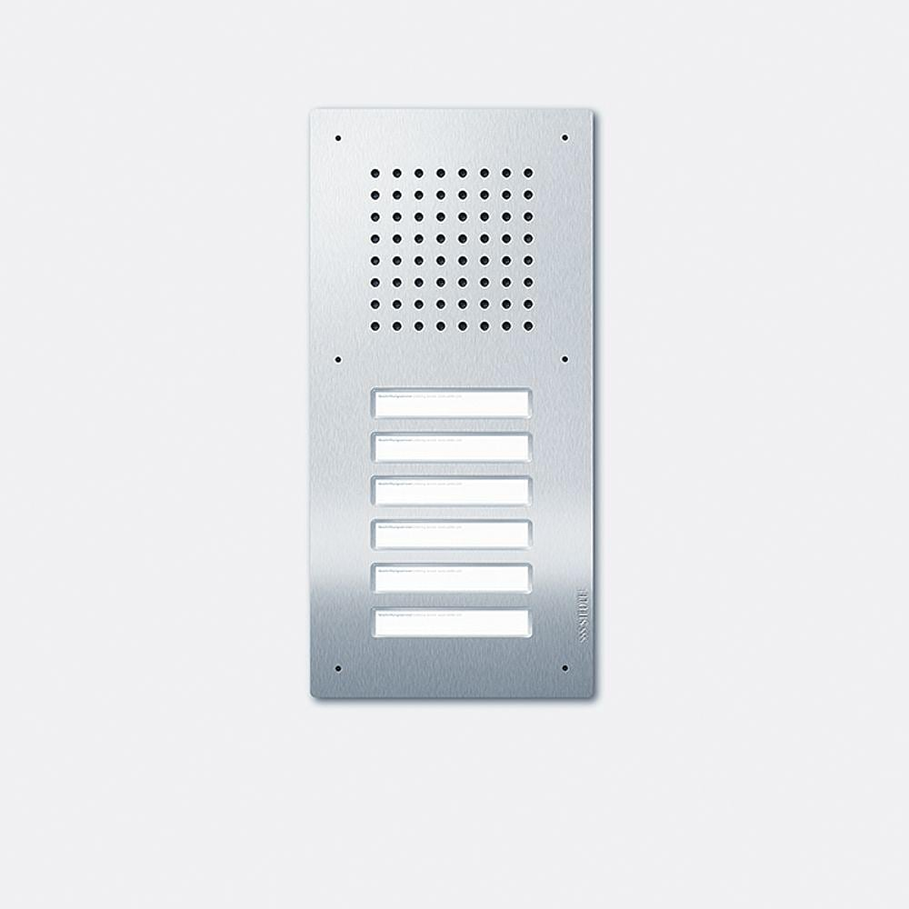 siedle classic türstation audio 6fach 1+n cla06n-02 von siedle bei