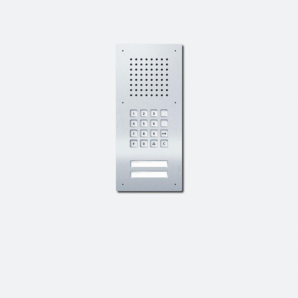 siedle classic türstation audio 2fach clacom02n-02 von siedle