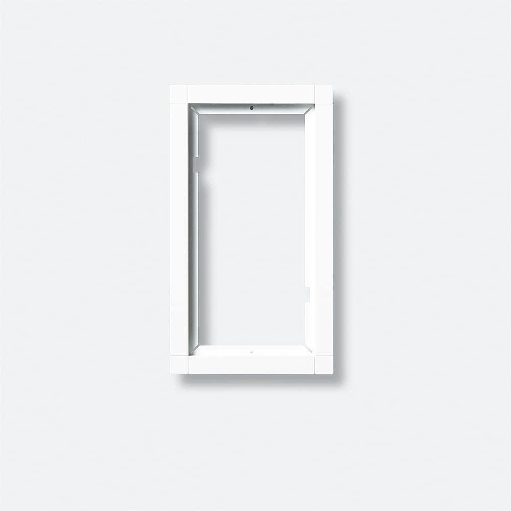 kombirahmen dunkelgrau siedle kr611 2 1 0dg von siedle. Black Bedroom Furniture Sets. Home Design Ideas