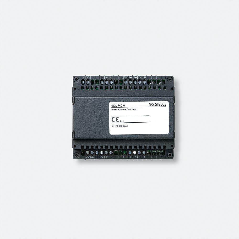 siedle video kamera controller vkc 740 0 von siedle bei elektroshop wagner. Black Bedroom Furniture Sets. Home Design Ideas