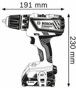 Bosch Gsr 18 2 Li Plus Professional Akku Bohrschrauber 06019e6102