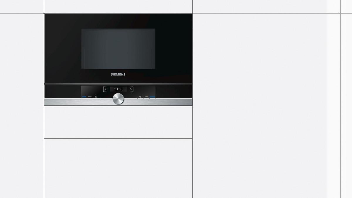 siemens bf634lgs1 einbau mikrowelle iq700 900 w edelstahl tft display 59 4 cm breit von. Black Bedroom Furniture Sets. Home Design Ideas