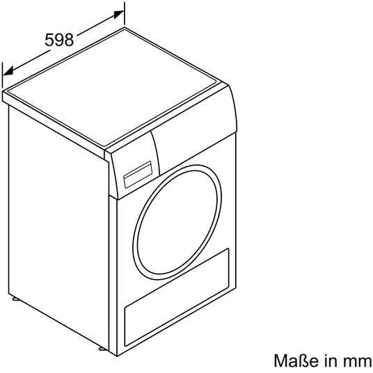 siemens wt47w5w0 8 kg a w rmepumpentrockner selbstreinigend von siemens gro ger te bei. Black Bedroom Furniture Sets. Home Design Ideas