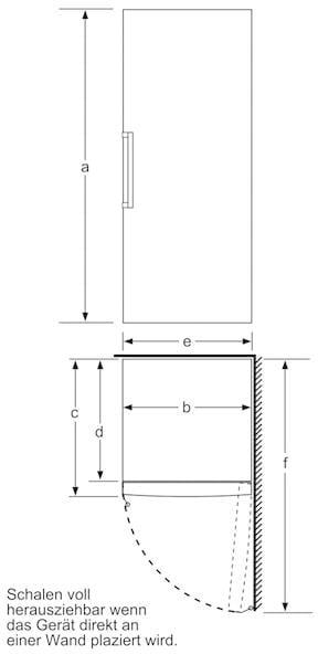 bosch gsv29vw31 a gefrierschrank wei 60 cm breit bigbox freshsense von bosch gro ger te. Black Bedroom Furniture Sets. Home Design Ideas
